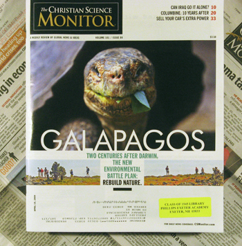 Christian Science Monitor - Magazine format