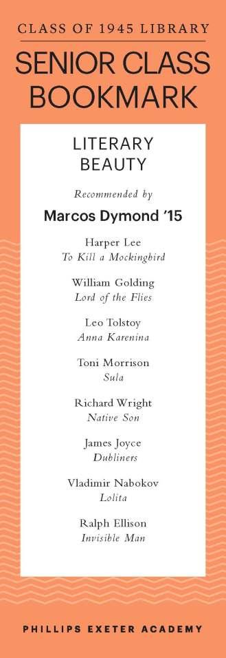 Marcos Dymond '15