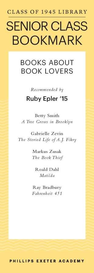 Ruby Epler '15