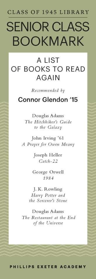 Connor Glendon '15