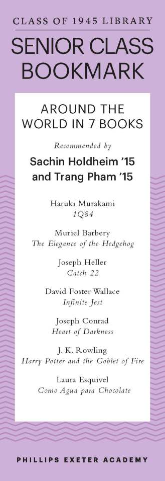 Sachin Holdheim '15 and Trang Pham '15