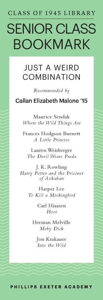 Callan Elizabeth Malone '15