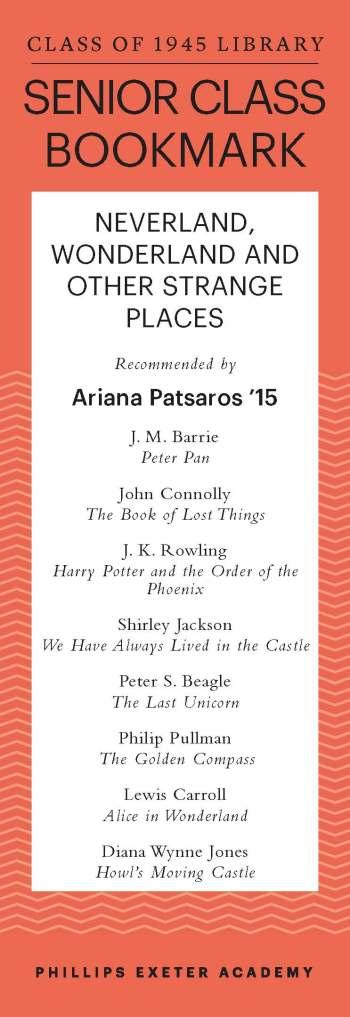 Ariana Patsaros '15
