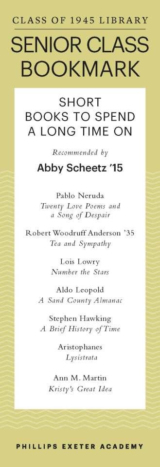 Abby Scheetz '15