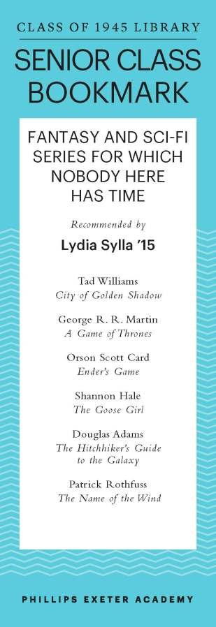 Lydia Sylla '15